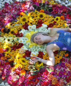 Sonoma County flower grower, Hedda Brorstrom.
