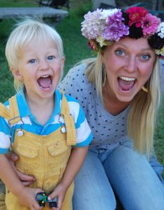 Hedda and one of her nephews