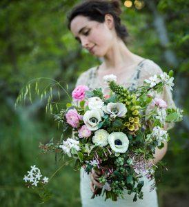 Wedding bouquet - photo credit Roger Elliott Photography